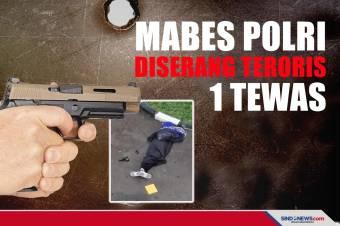 BREAKING NEWS: Mabes Polri Diserang Teroris, 1 Tewas