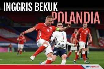 Bungkam Polandia, The Three Lions Raih 100% Kemenangan