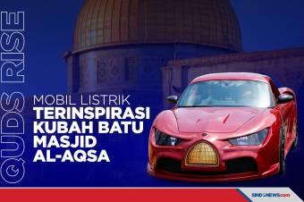 Lebanon Luncurkan Mobil Listrik, Terinspirasi Masjid Al-Aqsa