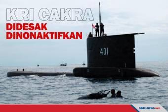 Pemerintah Indonesia Didesak Nonaktifkan Kapal Selam KRI Cakra