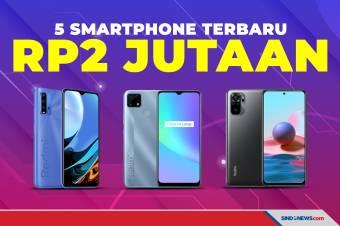 THR Cair, Ini Rekomendasi 5 Smartphone Terbaru Harga Rp2 Jutaan