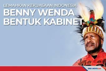 Lemahkan Kekuasaan Indonesia Benny Wenda Bentuk Kabinet