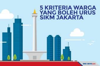 Kriteria Warga yang Bisa Mendapatkan SIKM DKI Jakarta