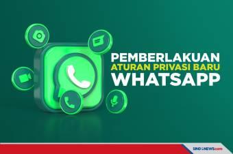 Mulai Berlaku, Aturan Privasi Baru WhatsApp Bikin Penggguna Lari