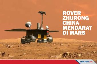 Rover Zhurong China Berhasil Mendarat di Planet Mars