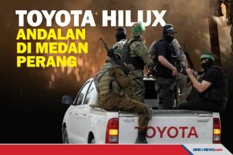 Selalu Muncul, Toyota Hilux Jadi Mobil Andalan di Wilayah Konflik