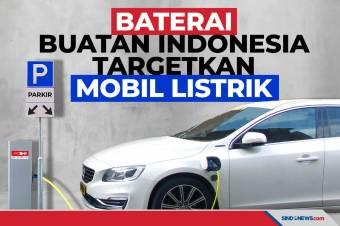 Baterai Buatan Indonesia Akan Digunakan Mobil Listrik di Ibu Kota Baru