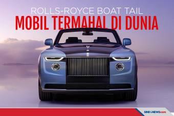 Dibanderol Rp400 Miliar, Rolls-Royce Boat Tail Cuma Ada 3 Unit