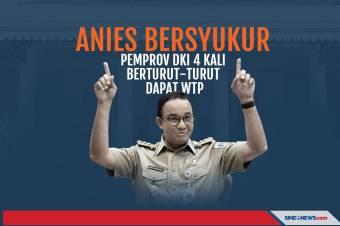 Anies Bersyukur, Pemprov DKI 4 Kali Berturut-turut Dapat WTP