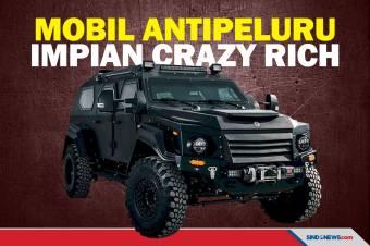 Deretan Mobil Canggih Antipeluru Impian Crazy Rich
