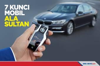 Deretan Kunci Mobil ala Sultan, Ada yang Berbentuk Jam Tangan