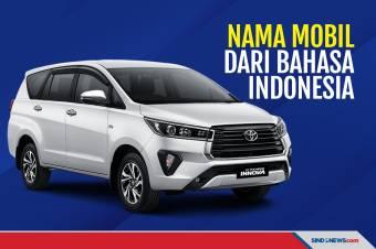 Deretan Nama Mobil yang Diadopsi dari Bahasa Indonesia
