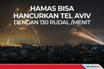 Hamas Mampu Hancurkan Tel Aviv Israel dengan 130 Rudal Per Menit