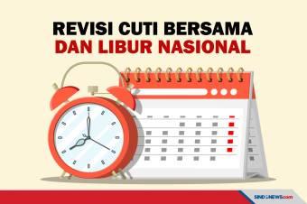 Pemerintah Tetapkan Perubahan Hari Libur Nasional 2021
