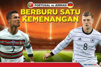 Piala Eropa 2020: Portugal vs Jerman, Berburu Satu kemenangan