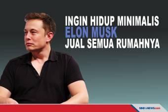 Pilih Hidup Minimalis, CEO Tesla Elon Musk Jual Semua Rumahnya