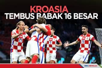 Hajar Skotlandia, Kroasia Tembus Babak 16 Besar Piala Eropa 2020