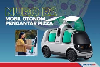 Mobil Robot Nuro R2, Pengantar Pizza hingga Depan Rumah