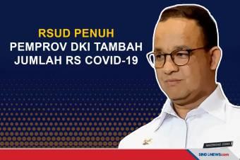 RSUD Penuh, Pemprov DKI Tambah Rumah Sakit Covid-19 Jadi 140