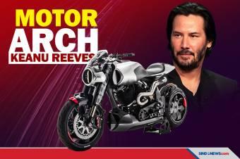 Deretan Model Motor ARCH Buatan Aktor Keanu Reeves