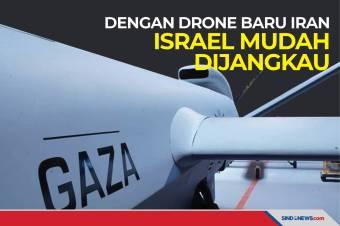 Iran Punya Drone Berdaya Jangkau 7.000 Km, Israel Mudah Dijangkau