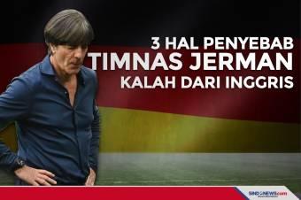 Tiga Hal Penyebab Timnas Jerman kalah Dari Inggris
