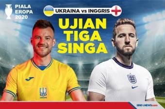 Ukraina vs Inggris, Ujian Tiga Singa di Luar Kandang