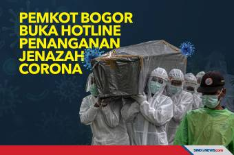 Pemkot Bogor Buka Hotline Penanganan Jenazah Corona