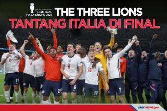 Inggris Tantang Italia di Final Piala Eropa Usai Bungkam Denmark