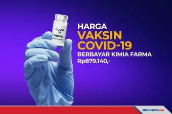 Vaksin Individu Berbayar Kimia Farma Dibanderol Rp879 Ribu