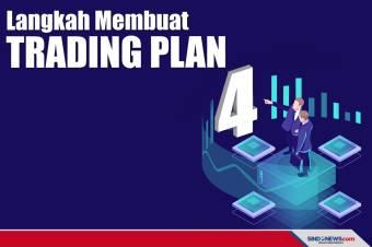 Begini Empat Langkah Cara Membuat Trading Plan