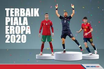 Berikut Beberapa Pemenang Trofi Individu Piala Eropa 2020