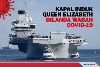Kapal Induk Inggris Queen Elizabeth Dilanda Wabah COVID-19