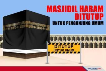 Mulai Hari Ini Masjidil Haram Ditutup untuk Pengunjung Umum