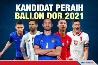 Kandidat Peraih Trofi Ballon dOr 2021: Messi-Chiellini Sengit
