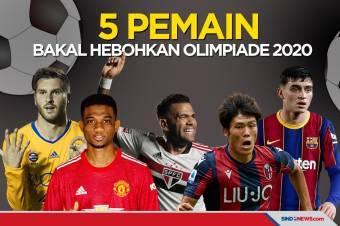 5 Pesepak Bola Diyakini Bakal Hebohkan Olimpiade Tokyo 2020