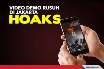 Viral Video Demo Rusuh di Jakarta Polda Metro Jaya Pastikan Hoaks