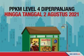 PPKM Diperpanjang sampai 2 Agustus, Boleh Makan di Warung