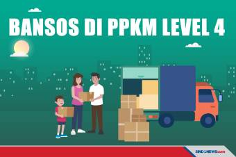Beragam Bansos PPKM Level 4, dari Ibu Hamil hingga Subsidi Gaji