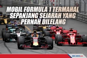 5 Mobil Formula 1 Termahal Sepanjang Sejarah yang Pernah Dilelang