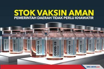 Stok Vaksin Aman, Pemerintah Daerah Tidak Perlu Khawatir
