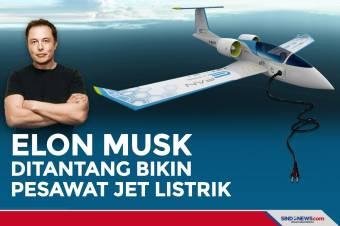 Ditantang Bikin Pesawat Jet Listrik, Beranikah Elon Musk?