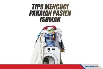Tips Mencuci Pakaian Pasien Isoman dan Protokolnya
