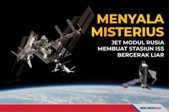 Menyala Misterius, Jet Modul Rusia Buat Stasiun ISS Bergerak Liar