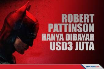 Robert Pattinson Hanya Dapat USD3 Juta untuk Bintangi The Batman