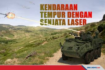 Amerika Berhasil Kembangkan Kendaraan Tempur dengan Senjata Laser