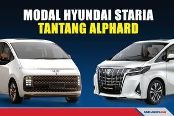 Desain Futuristis, Hyundai Staria Siap Bersaing dengan Alphard