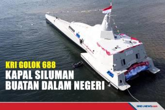 Armada Kapal Tempur KRI Golok 688 Resmi Perkuat TNI AL