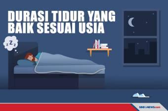 Durasi Tidur yang Ideal Berdasarkan Usia, Makin Tua, Makin kurang