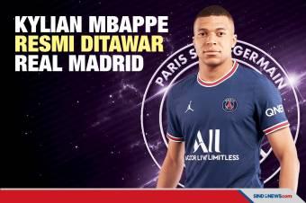 Resmi! Real Madrid Ajukan Tawaran Fantastis untuk Kylian Mbappe